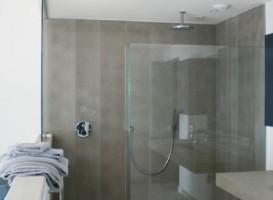parois de douche en verre