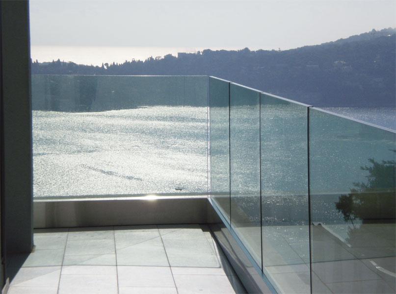 Balustrade En Verre Pour Terrasse